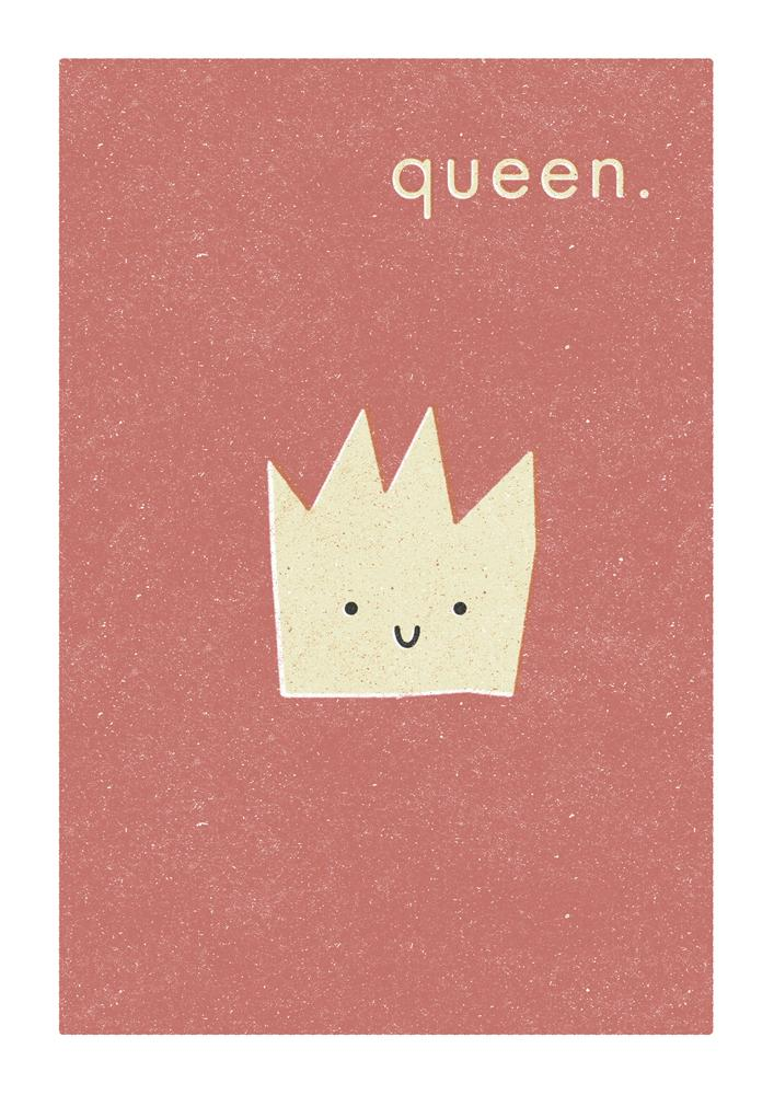 QUEEN - Fine Art Print - Freya Art & Design