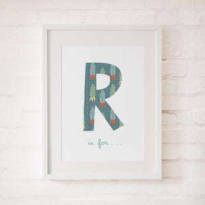 R IS FOR... - Fine Art Print - Freya Art & Design