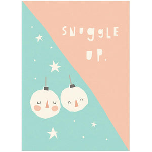 SNUGGLE UP - Greeting Card - Freya Art & Design
