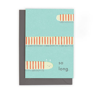 SO LONG - Greeting Card - Freya Art & Design