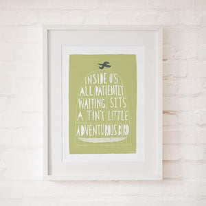 THE ADVENTUROUS BIRD - Fine Art Print - Freya Art & Design