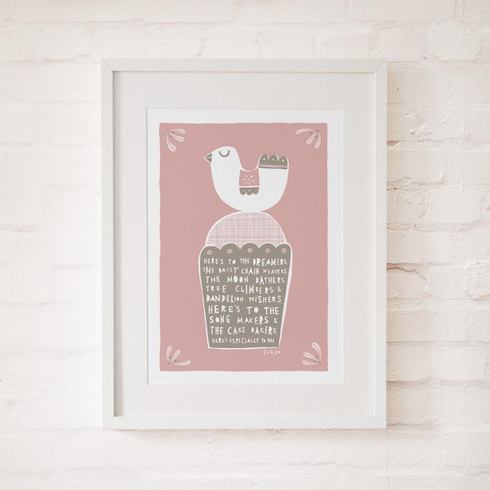THE DREAMERS - Fine Art Print - Freya Art & Design
