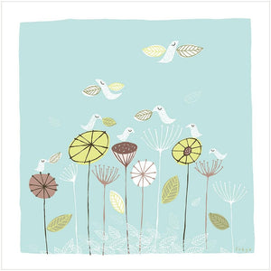 THE FLEDGLINGS - Fine Art Print - Freya Art & Design