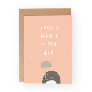 THERE'S MAGIC IN THE AIR - Greeting Card - Freya Art & Design