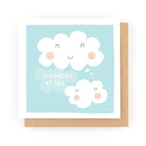 THINKING OF YOU - Greeting Card - Freya Art & Design