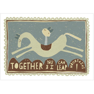 TOGETHER - Fine Art Print - Freya Art & Design