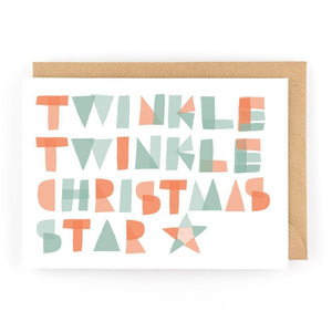 TWINKLE TWINKLE - Mini Gift Card - Freya Art & Design