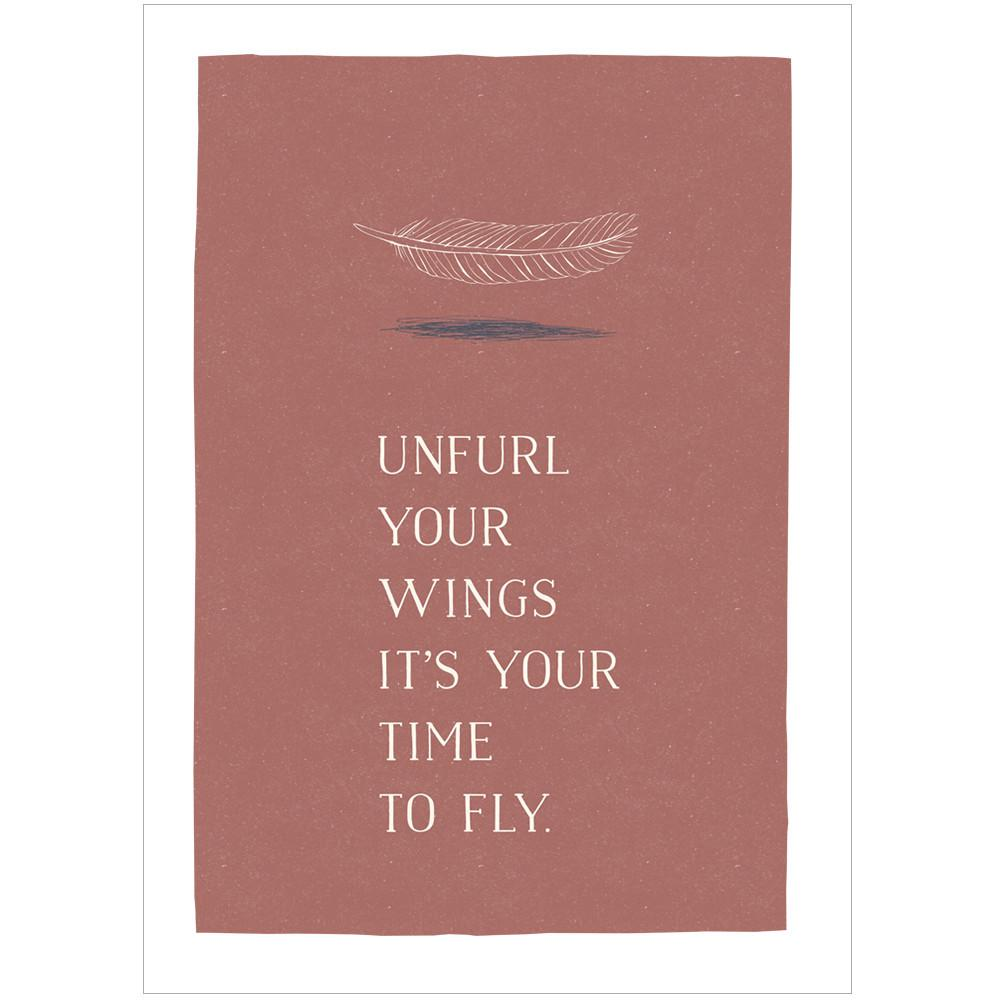 UNFURL YOUR WINGS - Fine Art Print - Freya Art & Design