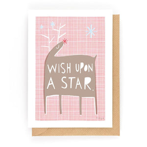 WISH UPON A STAR - Mini Gift Card - Freya Art & Design