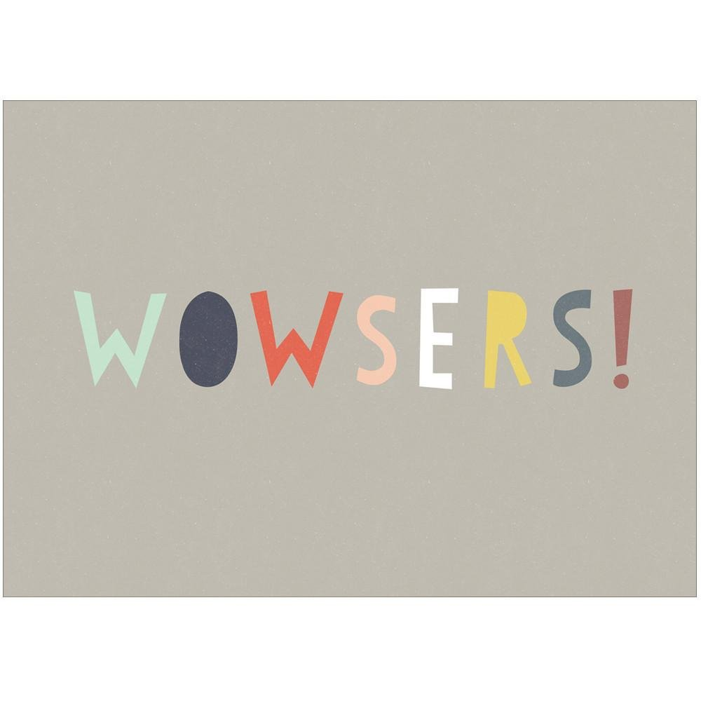 WOWSERS - Greeting Card - Freya Art & Design