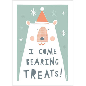 XMAS TREATS - Mini Gift Card - Freya Art & Design