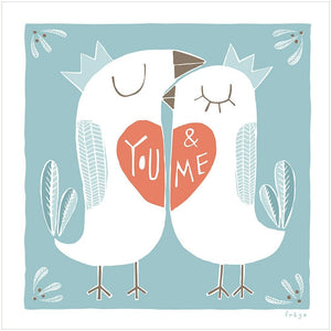 YOU & ME - Fine Art Print - Freya Art & Design