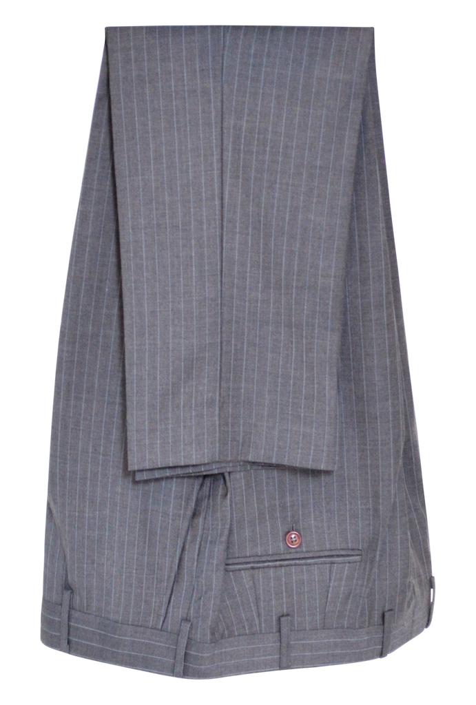 GREY PIN STRIPE SUIT