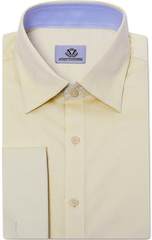 YELLOW PREMIUM OXFORD DRESS SHIRT