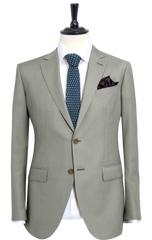 FROSTED GREY TWILL SUIT