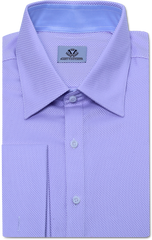 OXFORD PINPOINT LILAC DRESS SHIRT