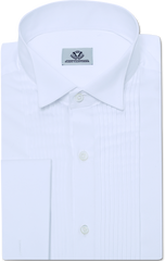 TUXEDO WHITE OXFORD DRESS SHIRT