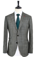 GLEN PLAID MISTY GREY SUIT