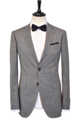 BIRDSEYE GREY SUIT