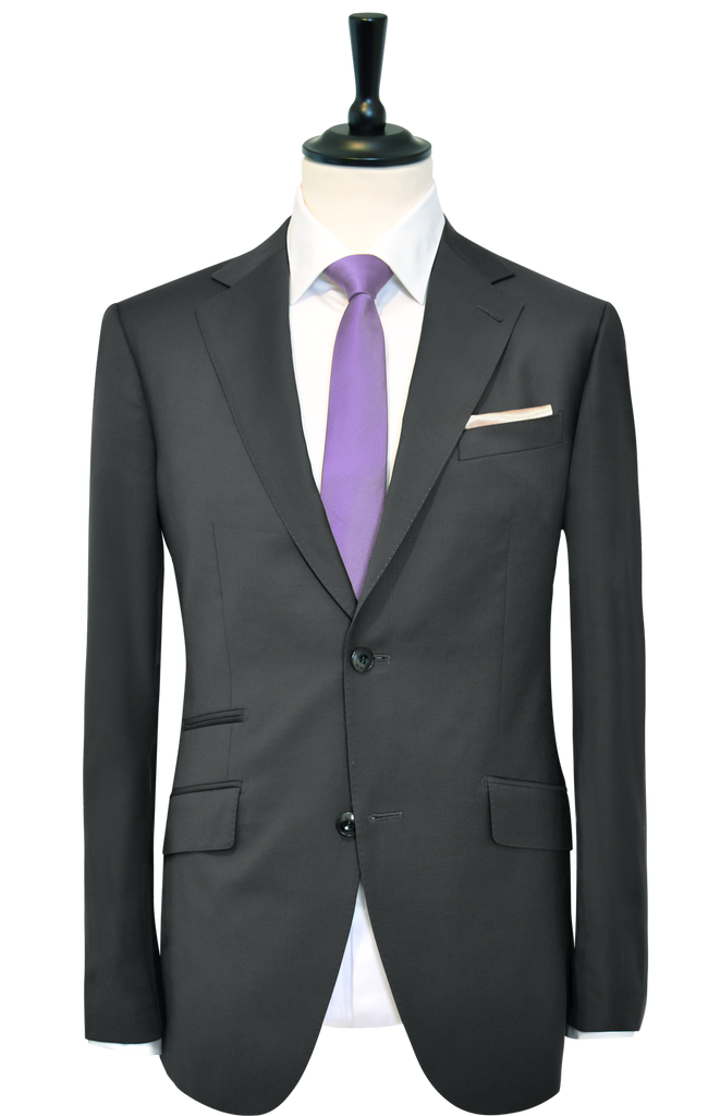 CHARCOAL STERLING GREY SUIT
