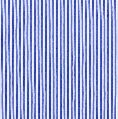 BLUE PIN STRIPE DRESS SHIRT