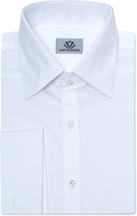 CLASSIC WHITE OXFORD DRESS SHIRT