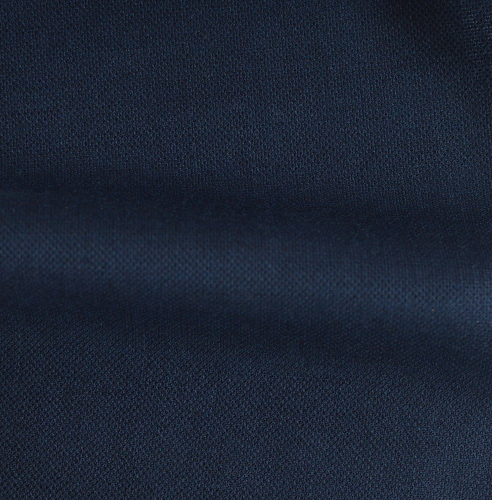 Navy Blue Worsted Suit