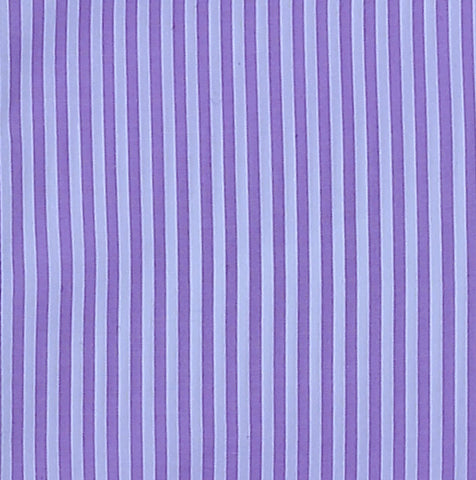 PURPLE AND WHITE PIN STRIPE DRESS SHIRT