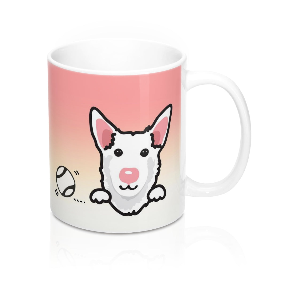"Mug ""My Cup Of Tea"" White Taiwan Dog"