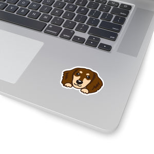 Sticker - Dachshund (Chocolate & Tan)