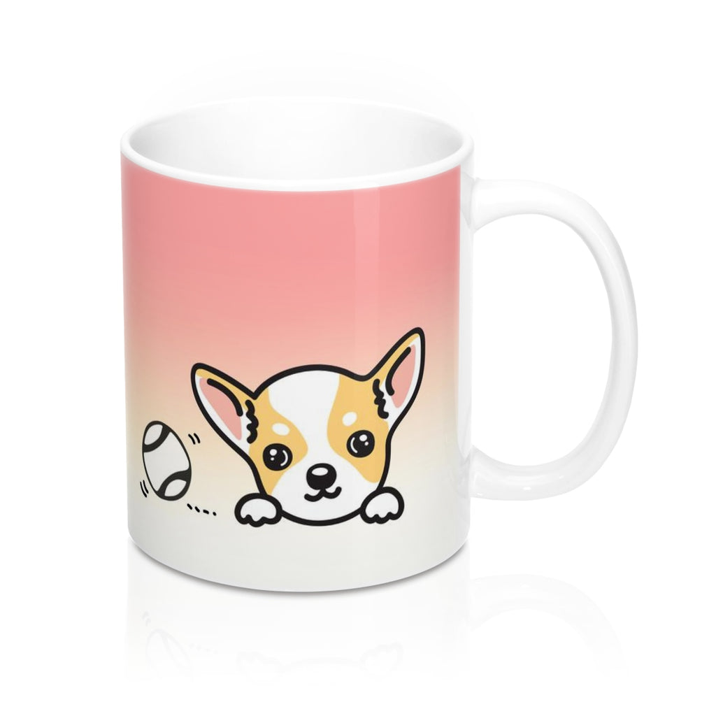 "Mug ""My Cup Of Tea"" Yellow Chihuahua"