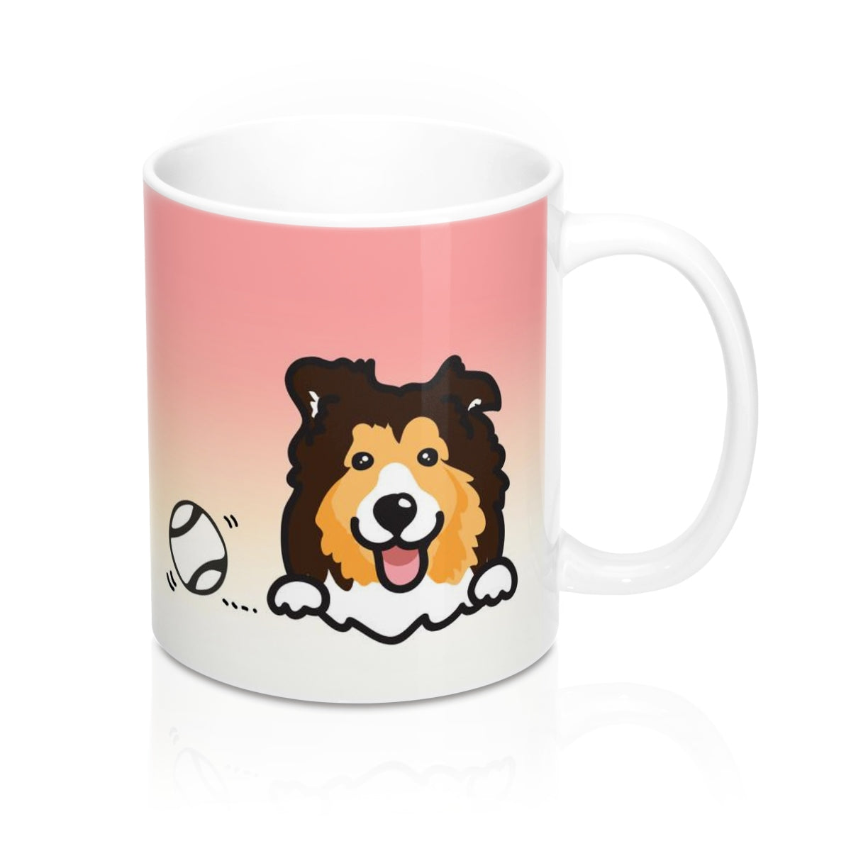 "Mug ""My Cup Of Tea"" Sheltie"