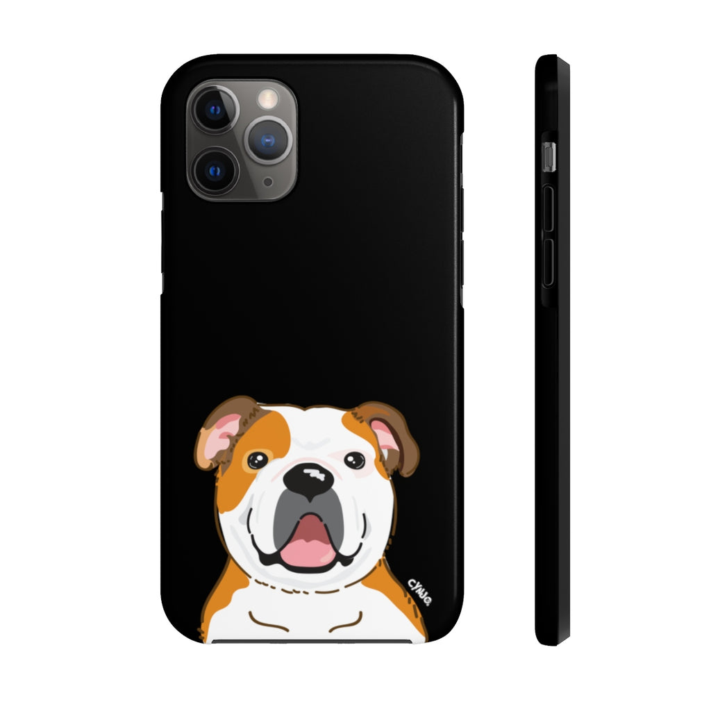 Bulldog Tough Phone Cases (Black)