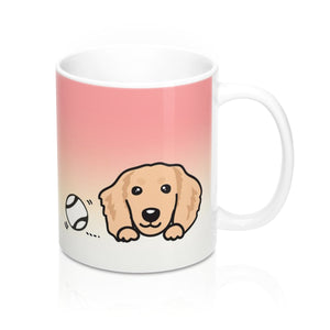 "Mug ""My Cup Of Tea"" Cream Dachshund"