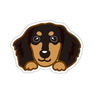 Sticker - Dachshund (Black & Tan)