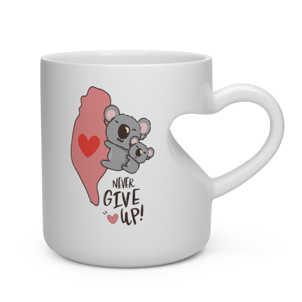 Heart Shape Mug - For Koala