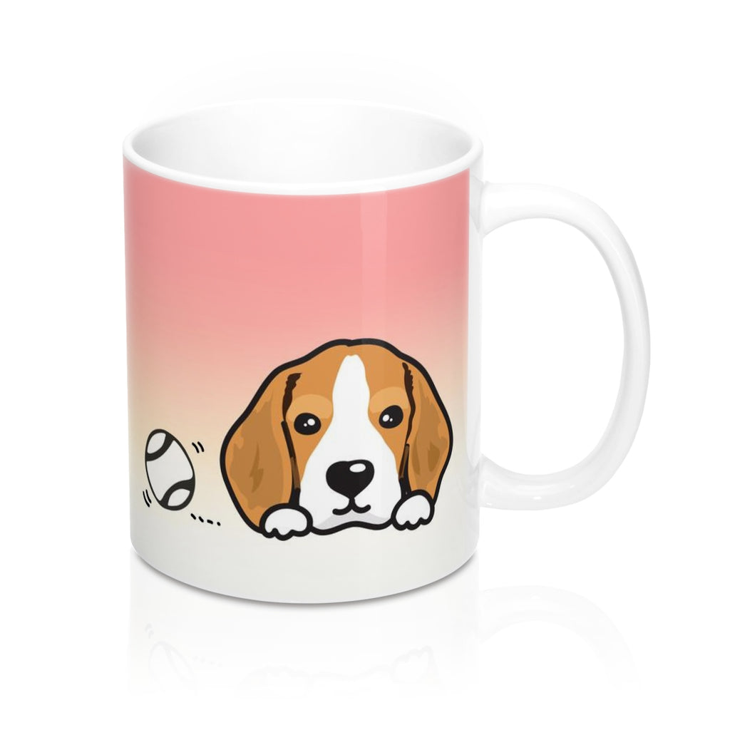 "Mug ""My Cup Of Tea"" Beagle"