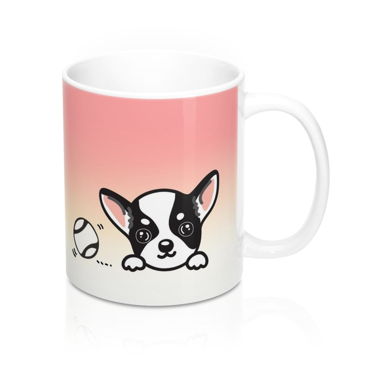 "Mug ""My Cup Of Tea"" Black Chihuahua"