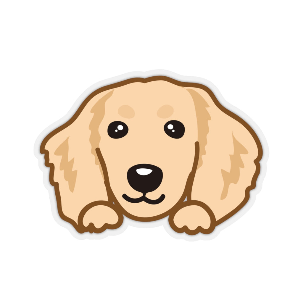 Sticker - Dachshund (Cream)
