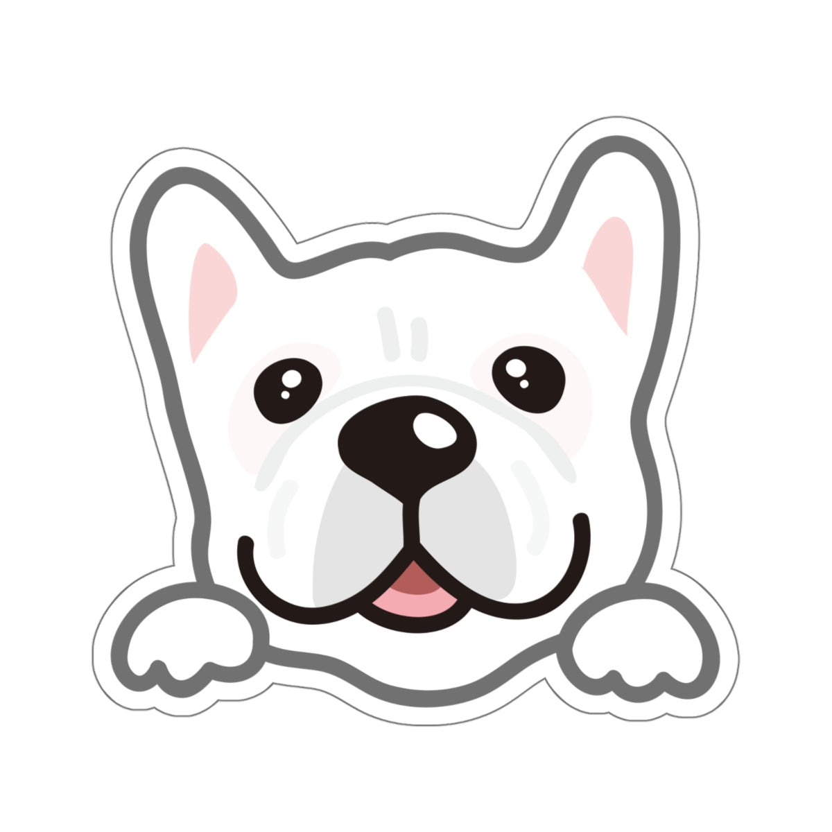 Sticker - Frenchie (White)