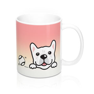 "Mug ""My Cup Of Tea"" White Frenchie"