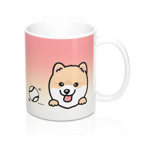 "Mug ""My Cup Of Tea"" Cream Pomeranian"