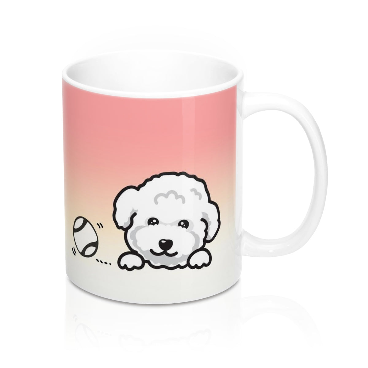 "Mug ""My Cup Of Tea"" White Poodle"