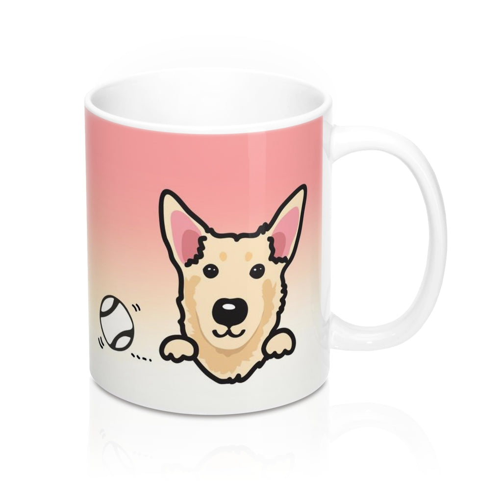 "Mug ""My Cup Of Tea"" Cream Taiwan Dog"