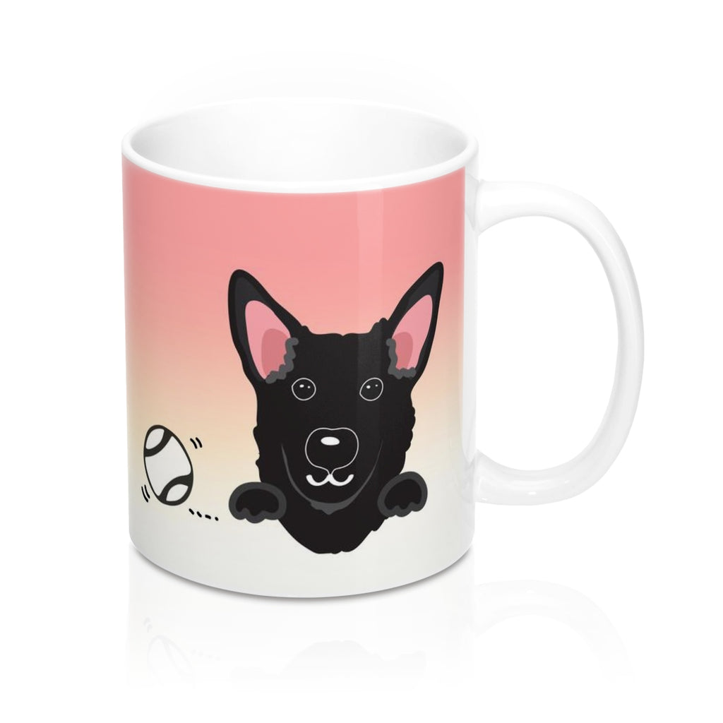 "Mug ""My Cup Of Tea"" Black Taiwan Dog"