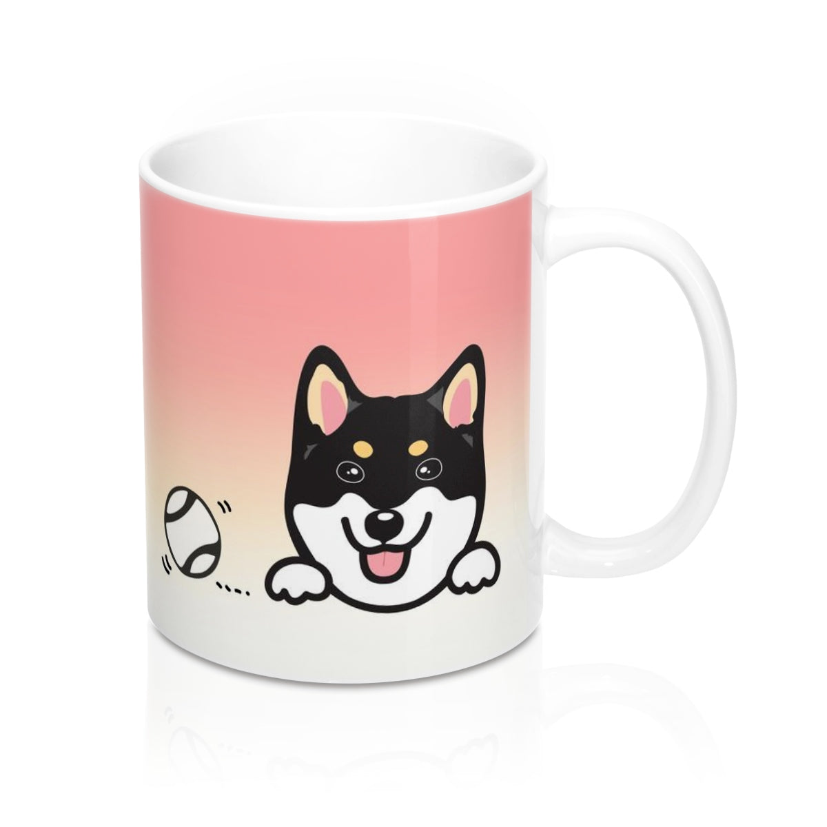 "Mug ""My Cup Of Tea"" Black Shiba"