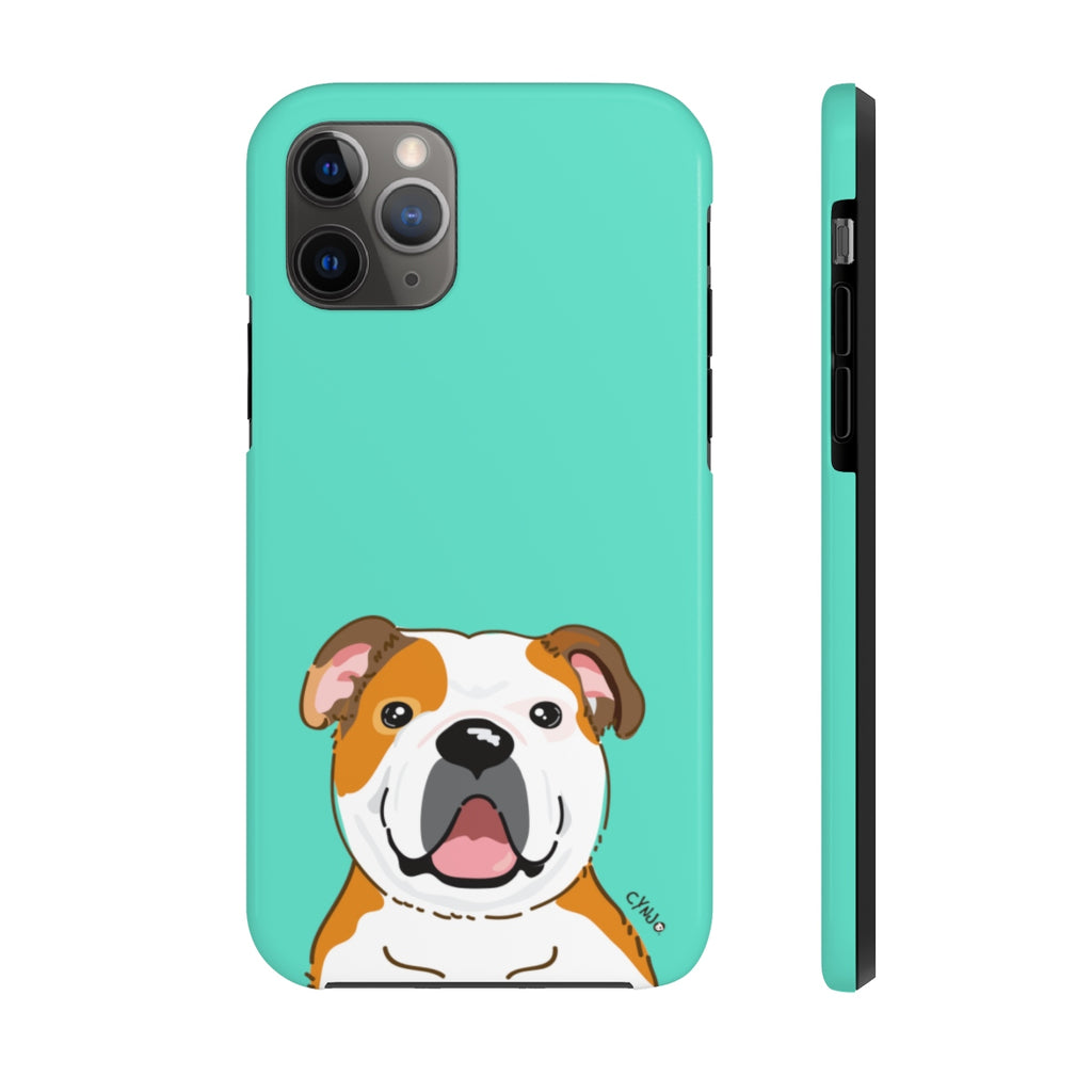 Bulldog Tough Phone Cases (CYNJO Blue)