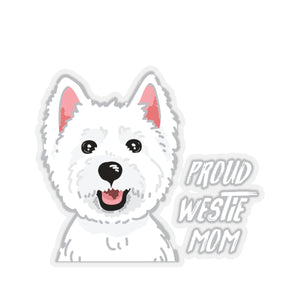 Sticker - Proud Westie Mom