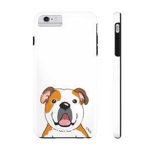 Bulldog Tough Phone Cases (White)
