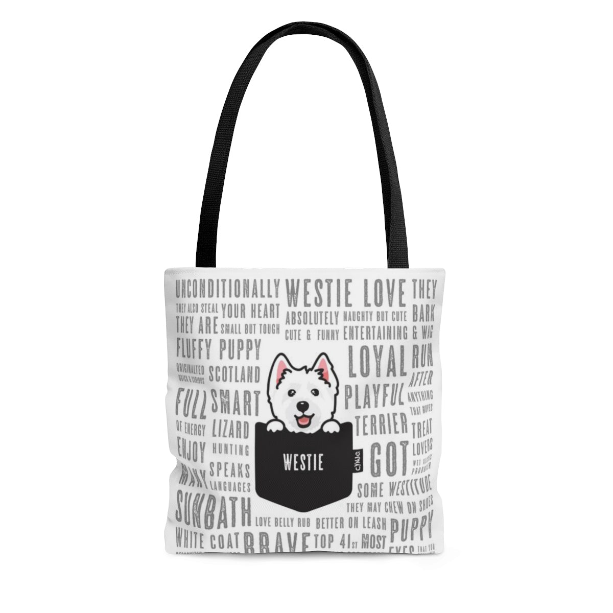 Tote Bag - Pocket Westie